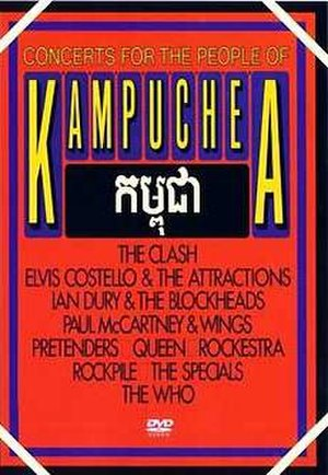 Concert for Kampuchea - Unofficial DVD cover
