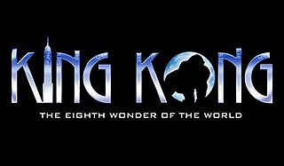 Broadway musical based on the 1933 film King Kong