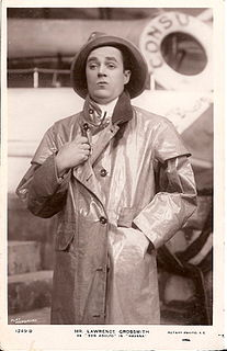 Lawrence Grossmith British actor