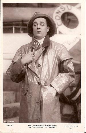 Coralie Blythe - Blythe's husband Lawrence Grossmith in Havana (1908)