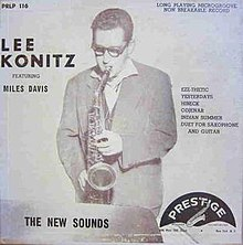 "Lee Konitz: The New Sounds 10""LP"