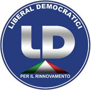 Liberal Democrats (Italy) - Image: Liberal Democrats (Italy) logo
