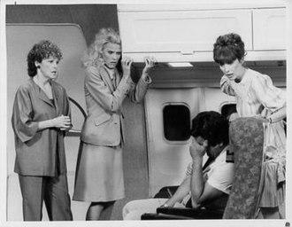 Alice (TV series) - Season 8: Linda Lavin (Alice), Celia Weston (Jolene), and Beth Howland (Vera)