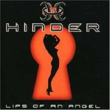 Hinder lips of an angel cover model
