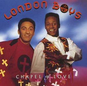 Chapel of Love (London Boys song) - Image: Londonboyschapeloflo ve