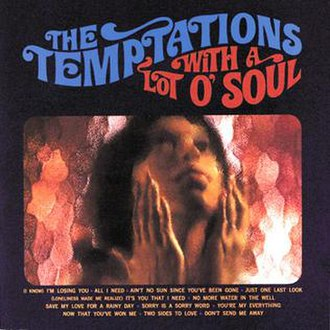 The Temptations with a Lot o' Soul - Image: Lot o soul tempts