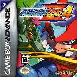 Mega Man Zero 4 GBA