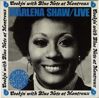 Marlena Shaw Live at Montreux - Image: MS Cookin' with Blue Note