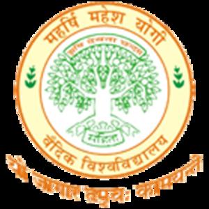 Maharishi Mahesh Yogi Vedic University - Image: Maharishi Mahesh Yogi Vedic Vishwavidyalaya Logo