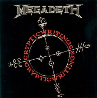Cryptic Writings - Image: Megadeath Cryptic Writings