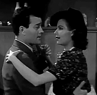 Chasing Trouble - Milburn Stone with Marjorie Reynolds, in Chasing Trouble (1940)