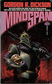 <i>Mindspan</i> book by Gordon R. Dickson