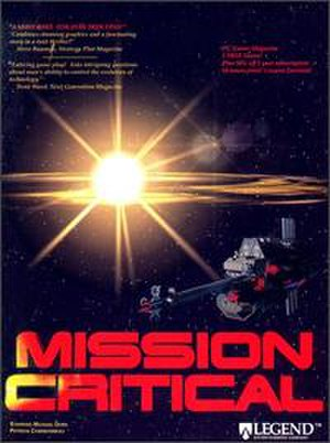 Mission Critical (video game) - Image: Mission Critical cover