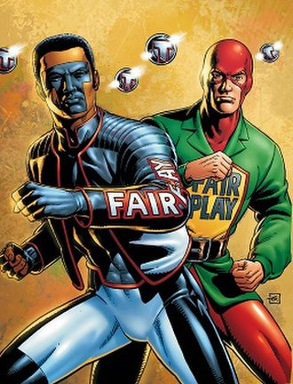 Mister Terrific (comics) - Image: Mister Terrifics
