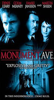 <i>Monument Ave.</i> 1998 film by Ted Demme