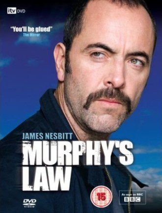 Murphy's Law (UK TV series) - Series DVD artwork