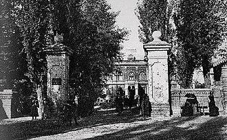 Mir-Fatah-Agha - Image: Mushthaid Garden, Tiflis. 1890s