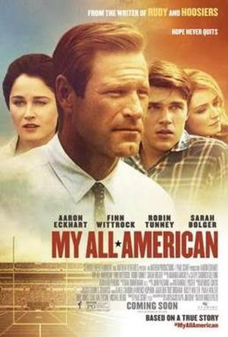 My All American - Theatrical release poster