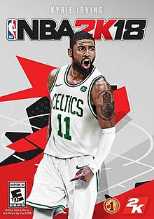 e13c6b1fcb83 NBA 2K18 cover art.jpg. Revised cover art featuring Kyrie Irving