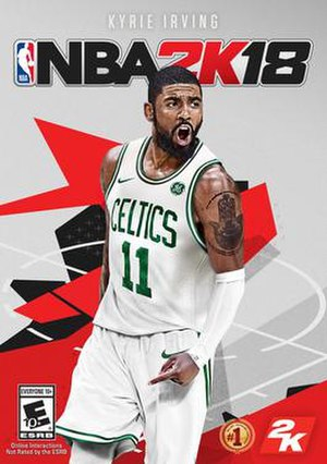 NBA 2K18 - Revised cover art featuring Kyrie Irving