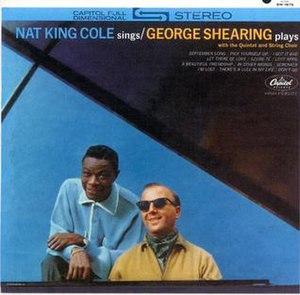 Nat King Cole Sings/George Shearing Plays - Image: Natgeorge