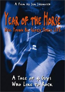 <i>Year of the Horse</i> 1997 film by Jim Jarmusch