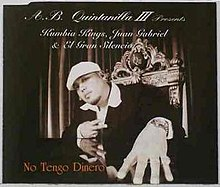 No Tengo Dinero Juan Gabriel Song Wikipedia