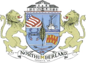 Northumberland County, Virginia - Image: Northumberland County, Virginia seal