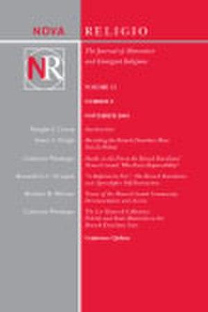 Nova Religio - Image: Nova Religio low res cover
