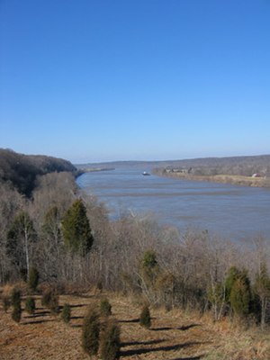 Meade County, Kentucky - View of the Ohio River in Meade County