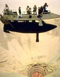 The Sarlacc Pit in the Return of the Jedi