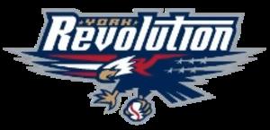 York Revolution - The Revolution's original primary logo
