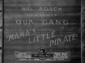 Mama's Little Pirate - Image: Our Gang 1934 Mamas Little Pirate