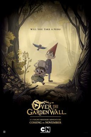 Over the Garden Wall - Image: Over the Garden Wall (animated miniseries) poster
