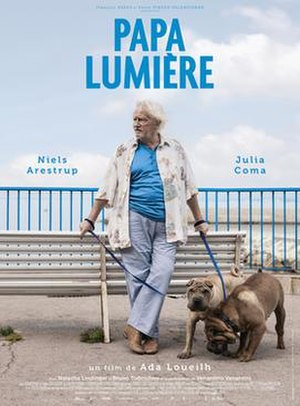 Papa lumière - Theatrical release poster