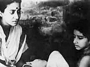 Karuna Banerjee - Karuna Banerjee in Pather Panchali (1955)