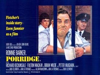 Porridge (film) - Theatrical poster
