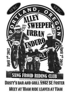 Portland Alley Sweeper