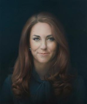 Portrait of Catherine, Duchess of Cambridge - Image: Portrait of Catherine, Duchess of Cambridge