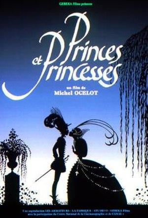 Princes et princesses - French film poster.