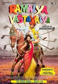 <i>Ramaiya Vastavaiya</i> 2013 film by Prabhu Deva