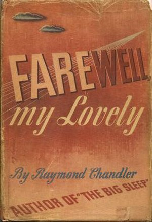 Farewell, My Lovely - Cover of the first edition