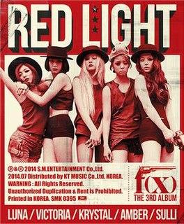 <i>Red Light</i> (f(x) album) 2014 studio album by f(x)