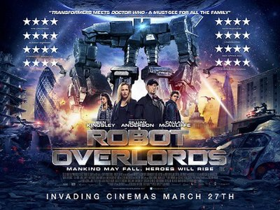 Picture of a movie: Robot Overlords