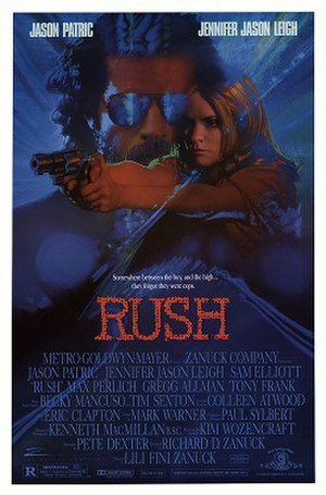 Rush (1991 film) - Theatrical Poster
