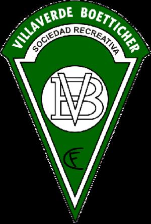 Villaverde San Andrés - Image: SR Villaverde Boetticher CF