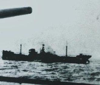 SS Cantabria (1919) - Image: SS Cantabria Nadir