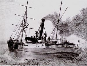 The SS Georgette