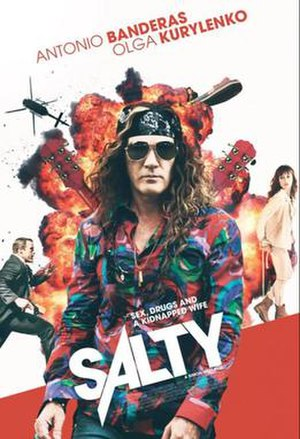 Gun Shy (2017 film) - Early poster displaying the working title Salty