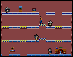 Impossible Mission - Sega Master System port of Impossible Mission.